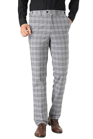 Hanayome - Pantalón de traje - para hombre gris gris 90: Amazon.es ...