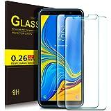 Kugi Samsung Galaxy A7 2018 Protector de Pantalla, Samsung Galaxy A7 2018 Cristal Templado [9H Dureza] [Alta Definicion] Protector de Pantalla para Samsung Galaxy A7 2018 (Paquete de 2)