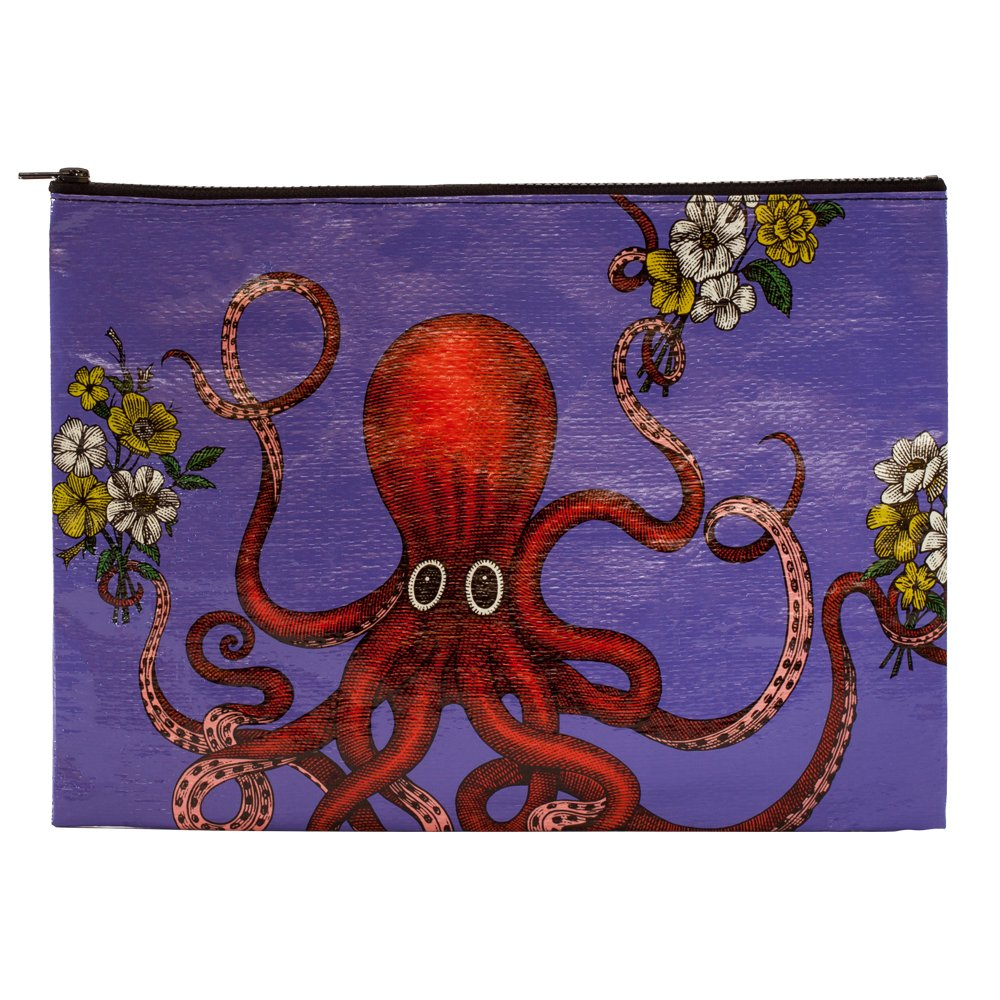 Made Out of 95/% Recycled Materials 10.25 by 13.75 Inches You Crafty Bitch Blue Q Jumbo Pouch