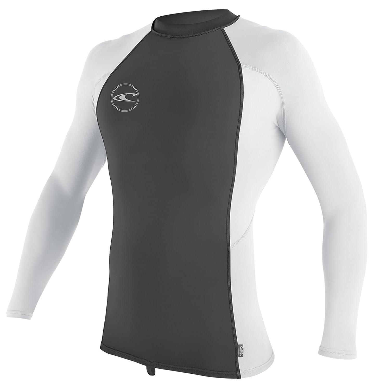 O'Neill Men's Basic Skins UPF 50+ Long Sleeve Rash Guard O' Neill 3342-214-L-Parent