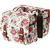 Bell Basil Bloom Double Bicycle Pannier