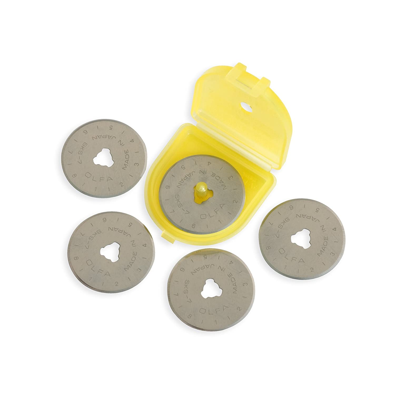 B0006SDOCM OLFA 28mm Rotary Blade Refill- 5 per Package 7122BTr5G-qL