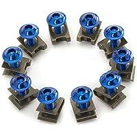 B Blesiya Exhaust Stud Nuts M6 Bolts Set for 110cc//125cc//140cc//160cc//200cc Pit Dirt Bike