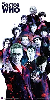 SCIENCE FICTION POSTER Doctor Who Doctors Collage 2 36x12