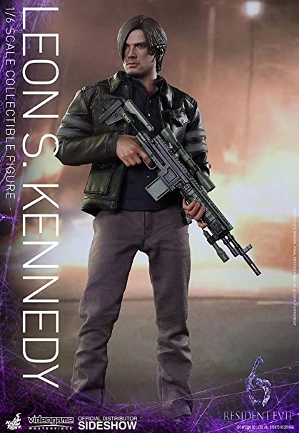 Amazon Com Hot Toys Resident Evil 6 Leon S Kennedy 1 6 Scale 12