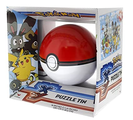 amazon com pokemon pokeball poke ball sphere puzzle tin 100 piece