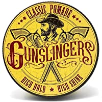 Gunslingers Vegan Friendly, Classic Pomade Made in England and Cruelty Free, 75ml