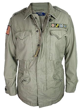 bestbewertetes Original Verkauf Einzelhändler Outlet Store Verkauf Ralph Lauren Herren Jacke | Field Jacket Military Vintage ...