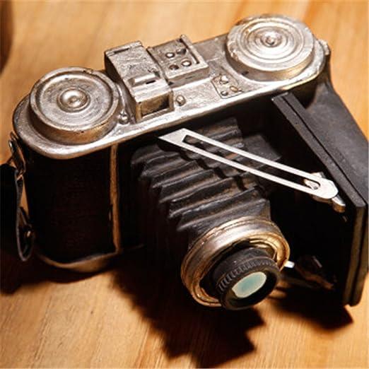 Youxd Modelo de cámara Manualidades Retro Tallado en Metal Europeo ...