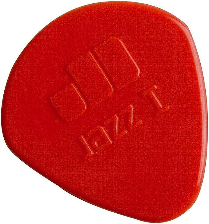 24//Bag 1.10mm Dunlop 47R1N Nylon Jazz I Red