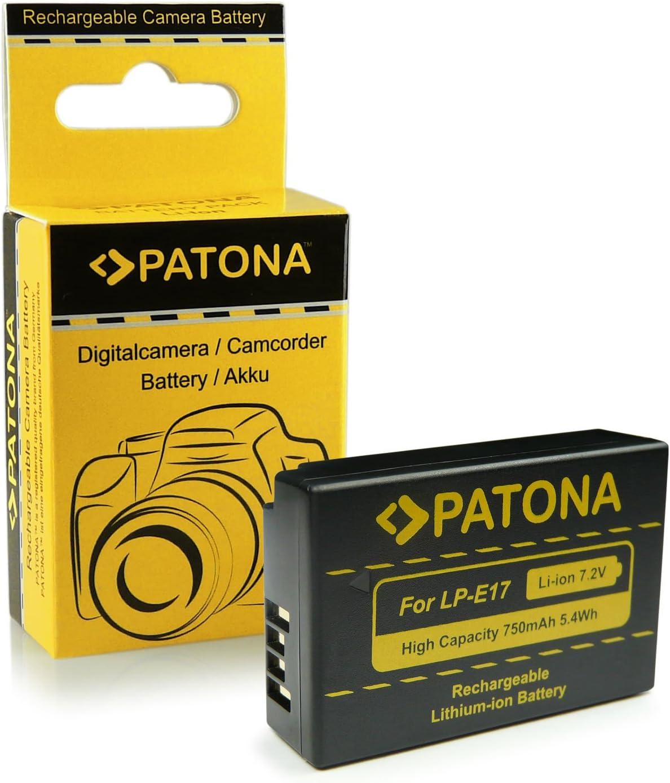 Batería 750mAh para Canon EOS 77D EOS 800D LP-E17