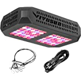VIVOSUN 300W LED Grow Light Full Spectrum with Double Switch for Hydroponic Indoor Plants Growing Veg and Flowering