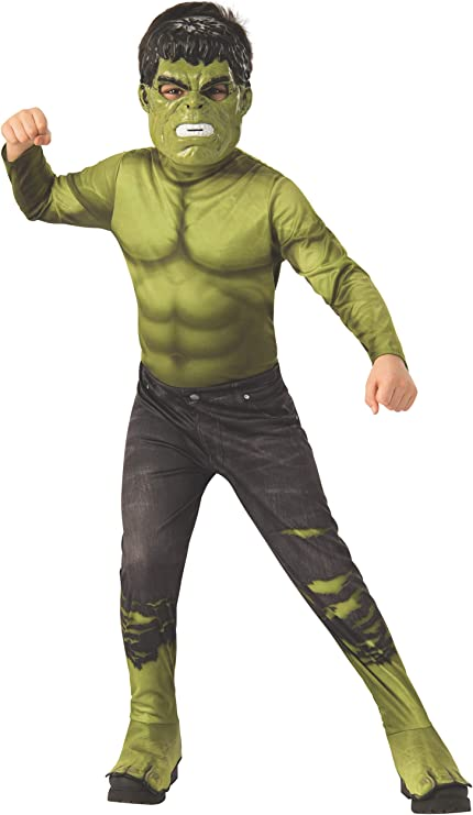 Rubies - Disfraz Oficial de Los Vengadores Endgame Hulk, clásico ...