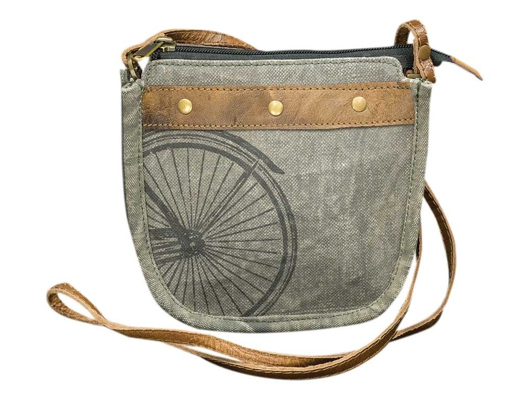 CWI Gifts Peddalton Saddle Crossbody Purse
