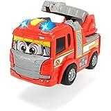 Dickie Toys 203816003 - Happy Scania Fire Truck, Feuerwehrauto mit Licht und Sound, für Kleinkinder ab 2 Jahren, 25cm