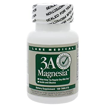 3A Magnesia 384mg 100 Tablets (Pack of 2)