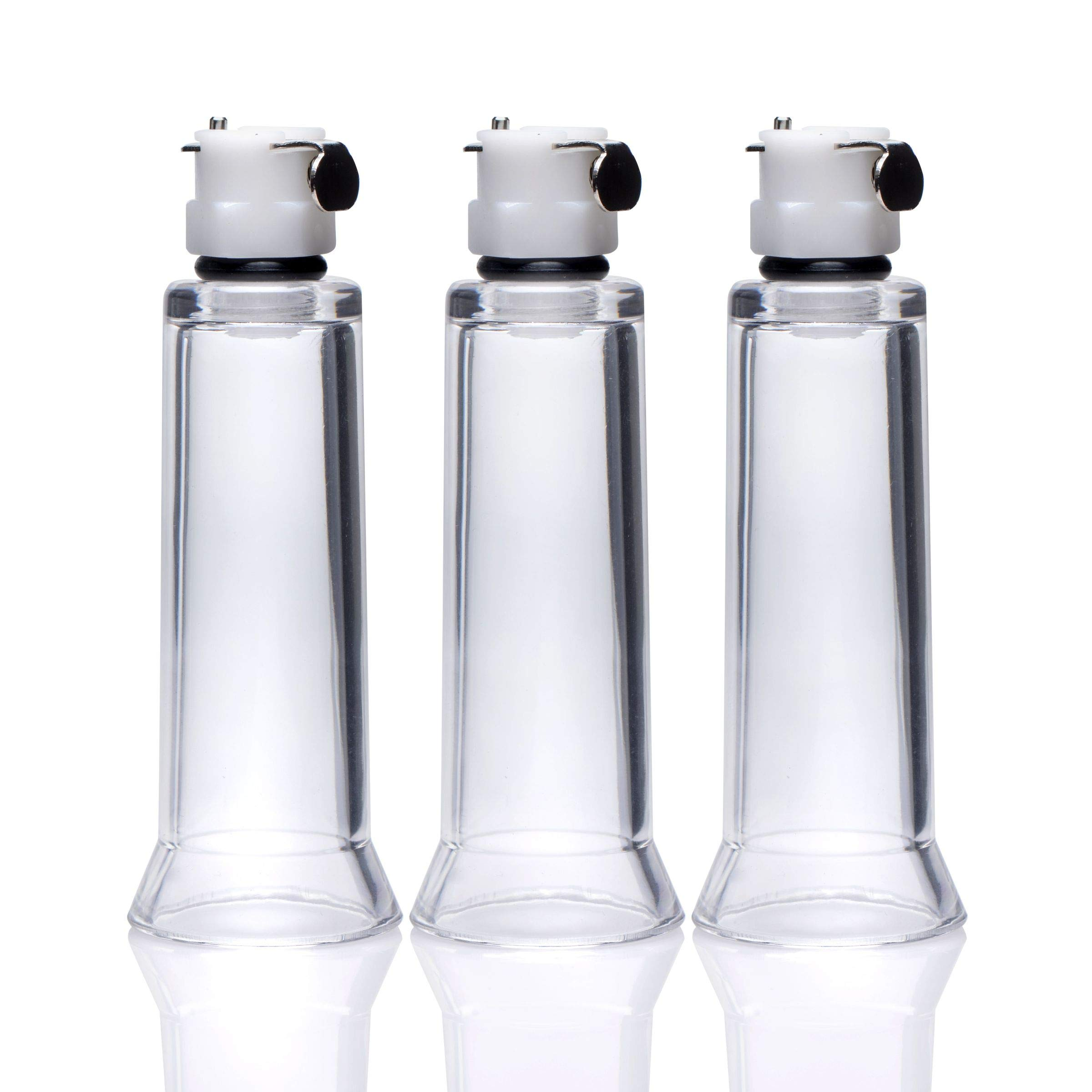 Size Matters Clit and Nipple Cylinders 3 Piece Set