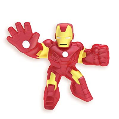 Heroes of Goo Jit Zu Licensed Marvel Hero Pack - Iron Man: Toys & Games