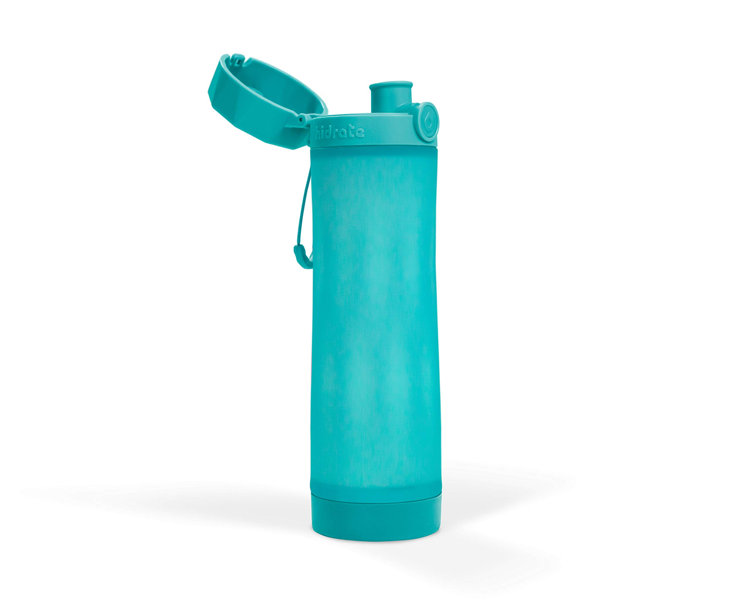 Hidrate Spark 3 Smart Water Bottle - Tracks Water Intake & Glows to Remind You to Stay Hydrated (Scuba) by Hidrate Spark (Image #6)
