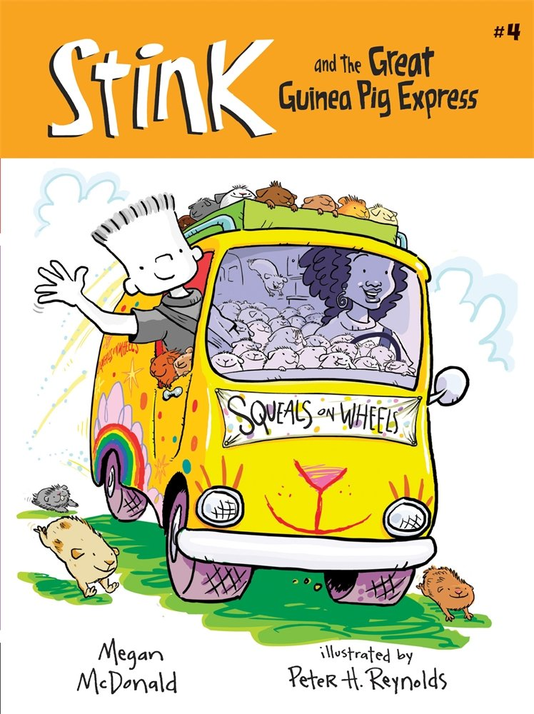 Stink and the Great Guinea Pig Express (Book #4) pdf epub