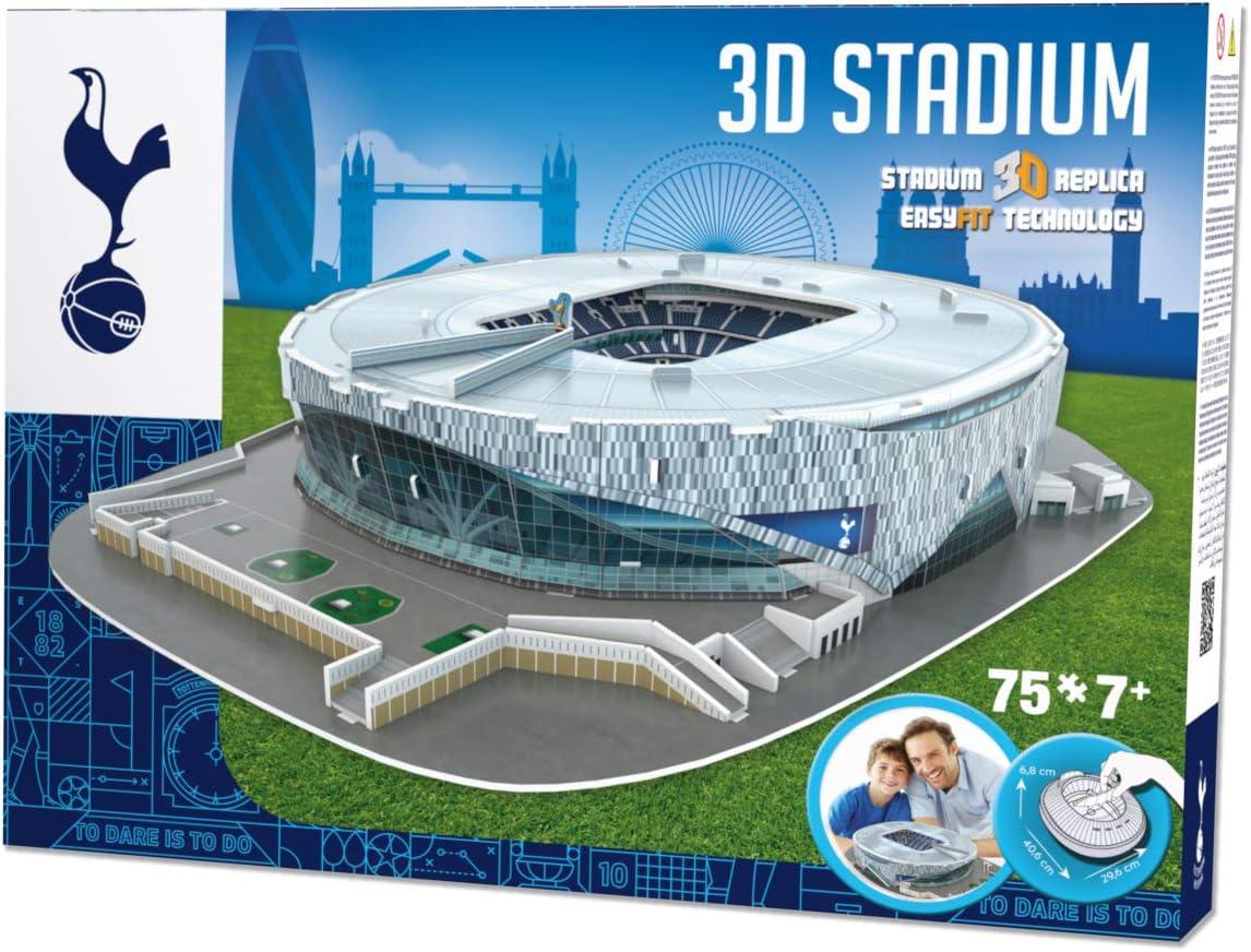 Amazon Com Paul Lamond Games 3905 Fc Tottenham Hotspur Stadium 3d Jigsaw Puzzle Toys Games