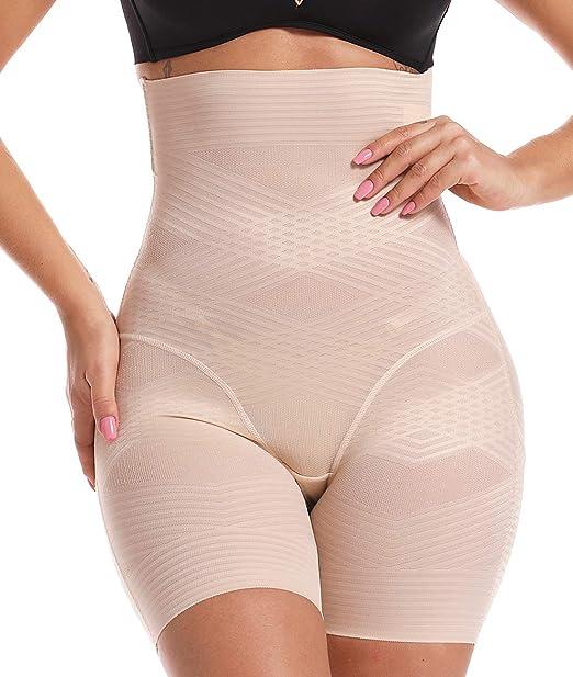 SLIMBELLE Donna Modellante Vita Alta Guaina Intimo Shapewear Mutande Contenitiva Slip Contenitive Pancia Pancera da Dimagrante Shaper Up Snellente per Push