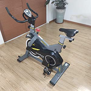 pooboo Magnetic Exercise Bikes Stationary Bike Belt Drive Indoor Cycling Bike Fitness Bike for Home Cardio Workout Bike Training with LCD Monitor
