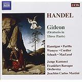 Händel - Gideon / Hannigan, Perillo, Wemyss, Cordier, Schoch, MacLeod, Junge Kantorei, Frankfurt Barockorchester, Martini