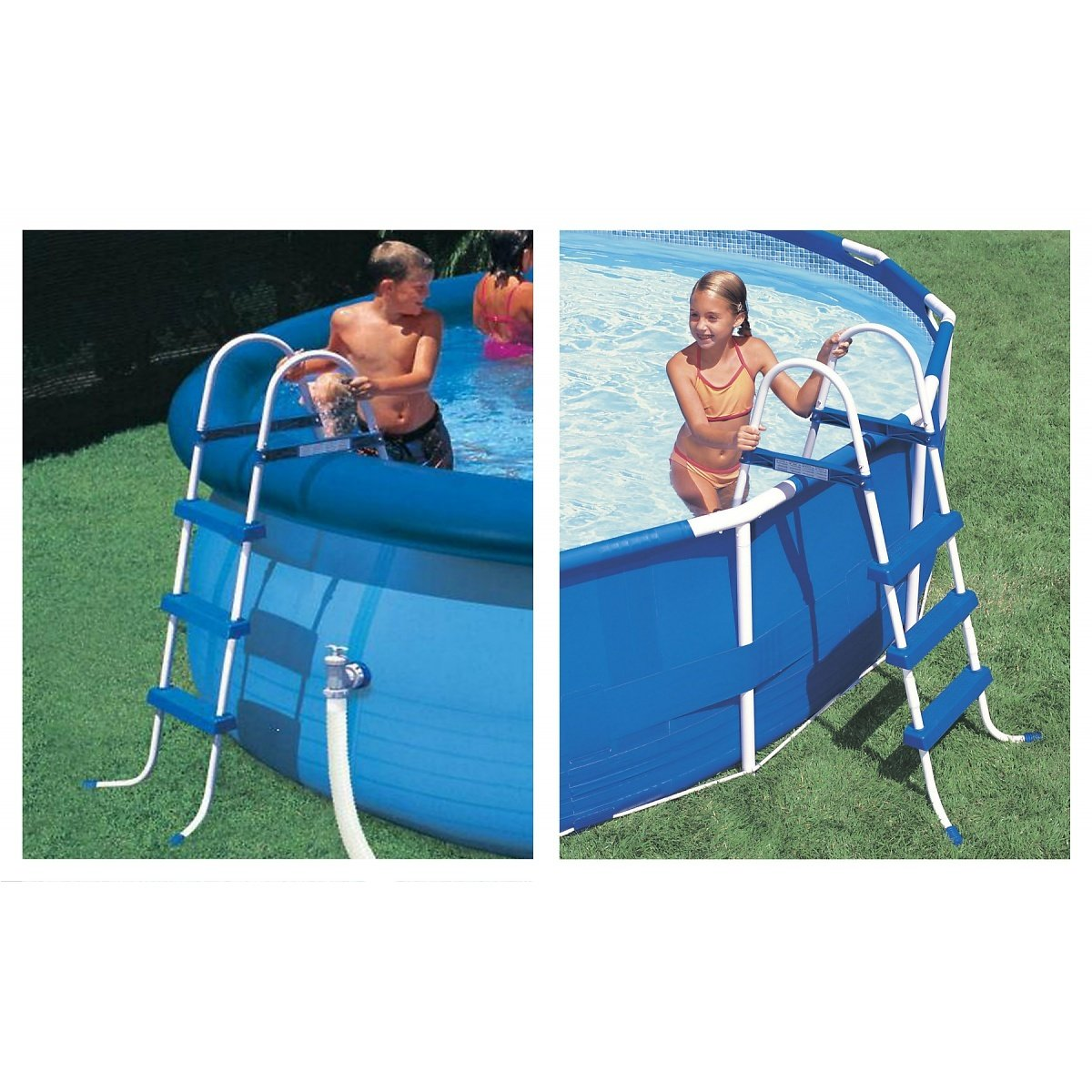Intex 36-Inch Pool Ladder With Barrier 2