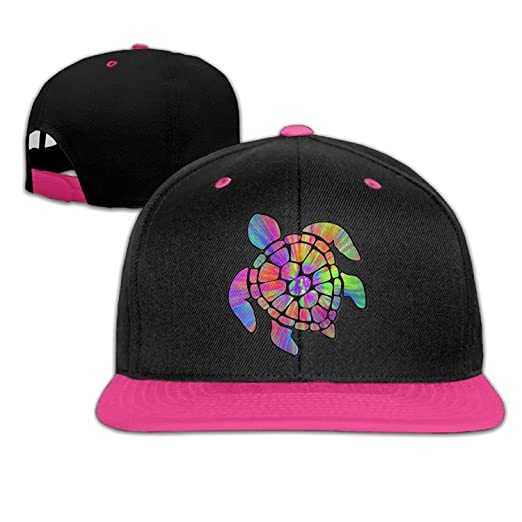 Tie Dye Cl Sea Turtle Snapback Hat Hip Hop Baseball Caps at Amazon ... 1aa649cfffe