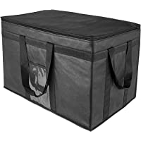 Yalin XXL-Larger Insulated Cooler Bags with Zipper Closure,Reusable Grocery Shopping Bags Keep Food Hot or Cold…