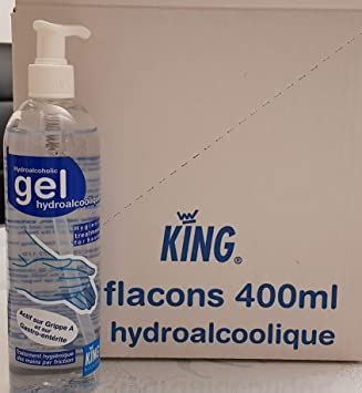 Gel Hydroalcoolique 400 Ml Amazon Es Salud Y Cuidado Personal