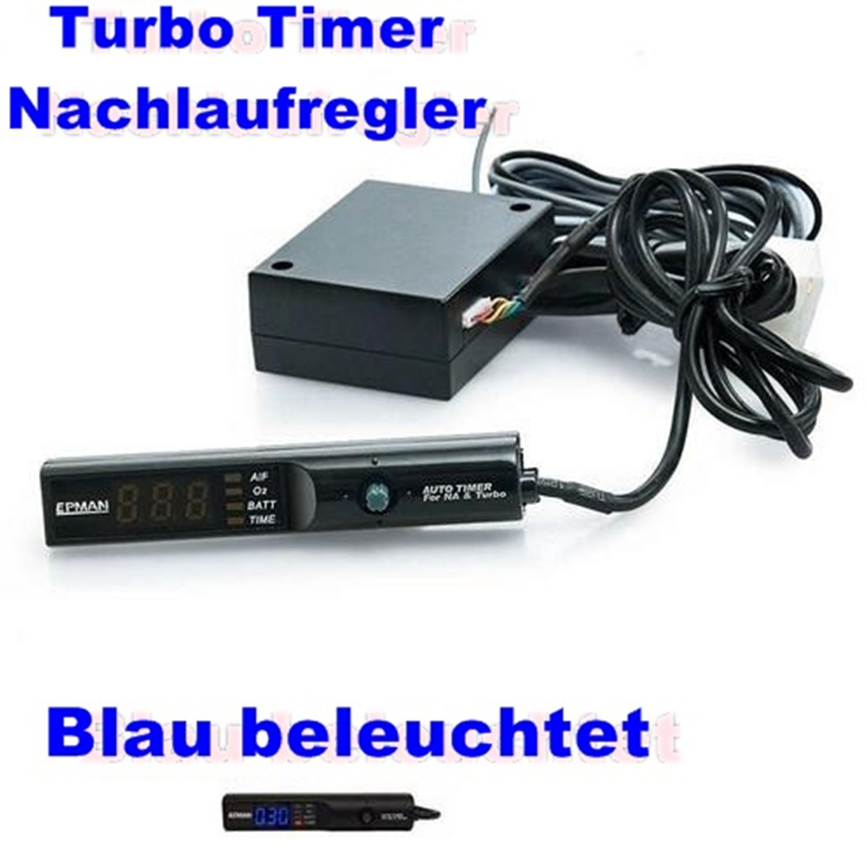Turbotimer Turbo Timer Blau beleuchtet Turboregler Turbo ...