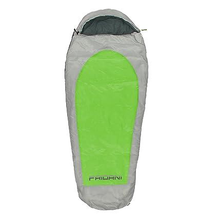 Fridani EG 180 K Camping Saco de Dormir de hasta 11 °C XL – Saco