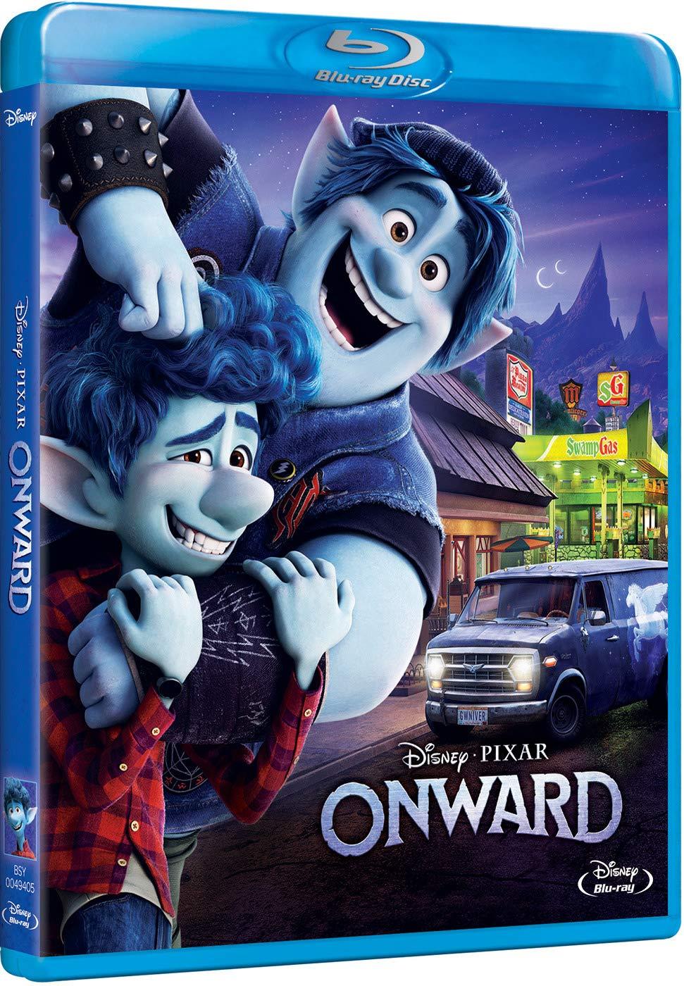 Onward [Blu-ray]: Amazon.es: Tom Holland, Chris Pratt, Julia Louis ...