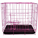 SRI Dog Cage for Dog with Removable Tray