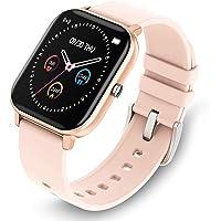 GetPlus Smartwatch Reloj Inteligente para Mujer y Hombre - Pulsera Monitor de Actividad Deportivo Digital para Android y…