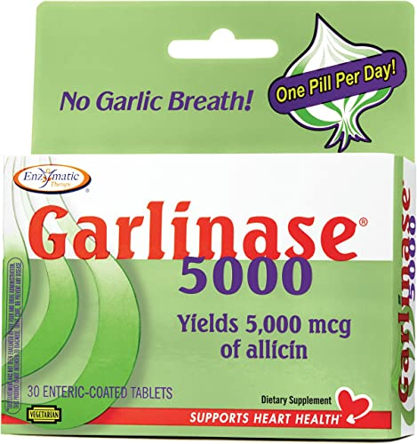 Nature s Way, Garlinase Fresh Tablets, 30 Count
