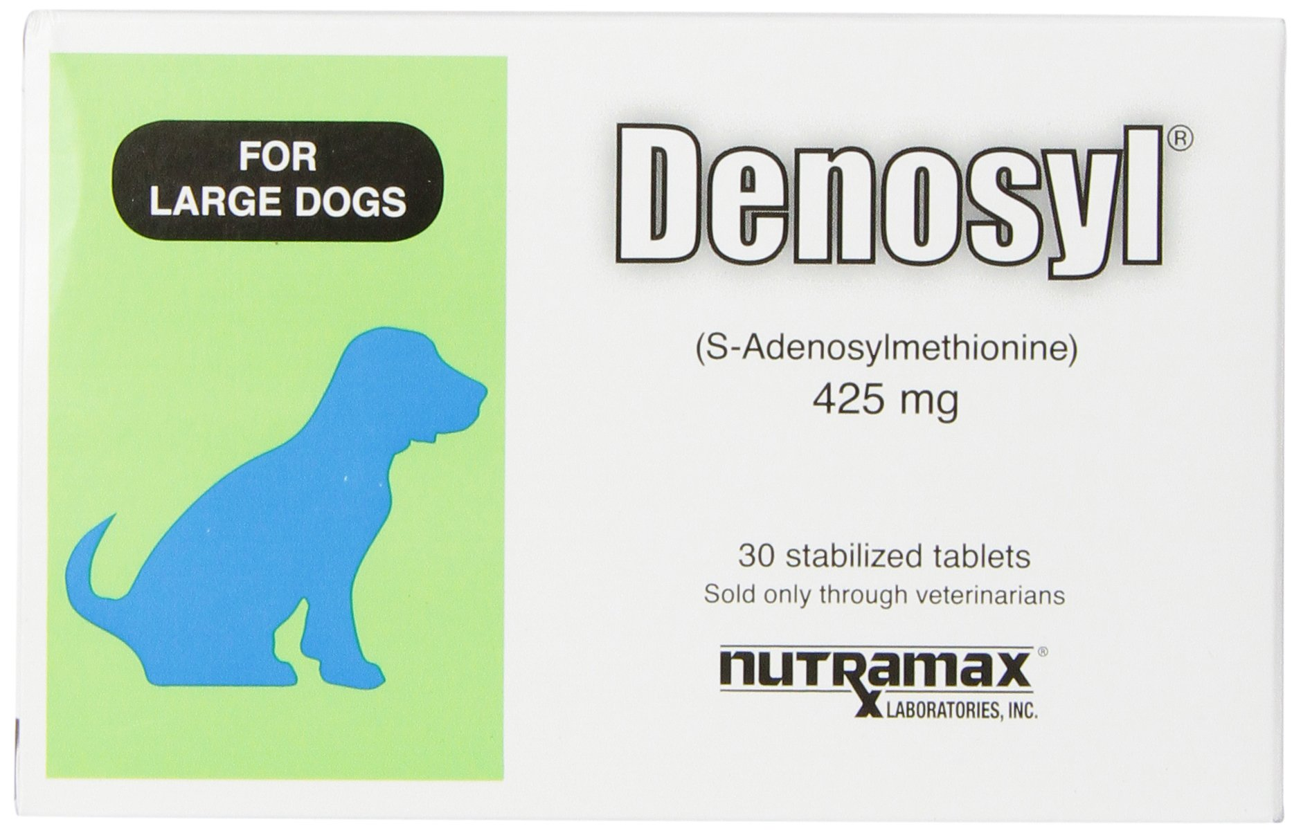 Nutramax Denosyl Tablets, Large Dog, 425mg, 30 Count