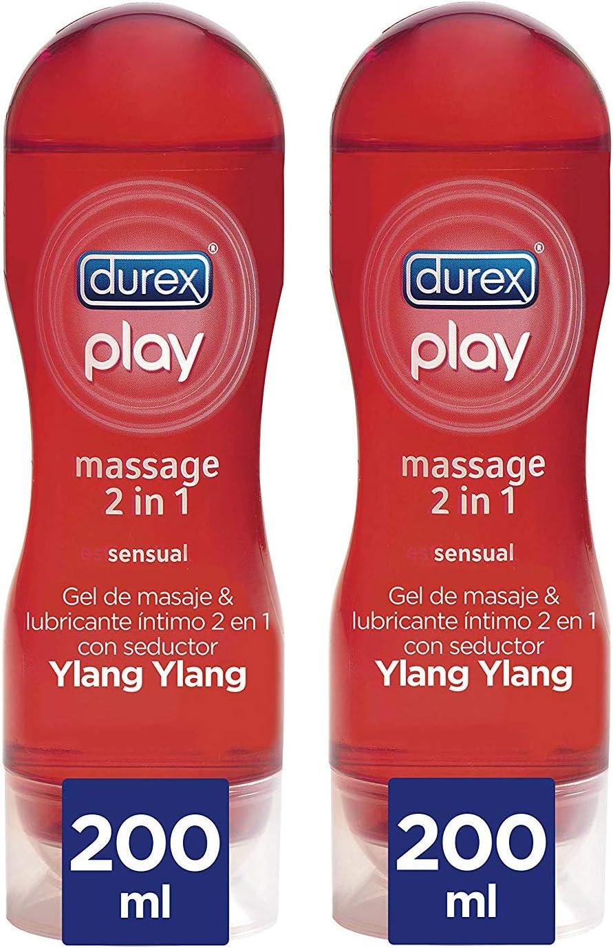 Durex Lubricante Massage Sensual 200ml x 2 Unidades