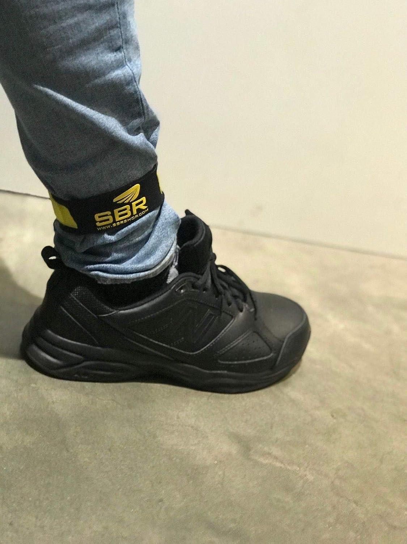 SBR 2 PCS Bike Bicycle Reflective Ankle Leg Bind Wrist Safety Band Pants Clip