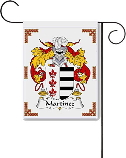 Amazon Com Carpe Diem Designs Martinez Coat Of Arms Martinez Family Crest 11 X 15 Garden Flag Made In The U S A Garden Outdoor