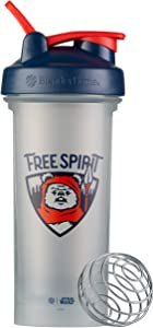 BlenderBottle Star Wars Classic V2 Shaker Bottle Perfect for Protein Shakes and Pre Workout, 28-Ounce, Free Spirit