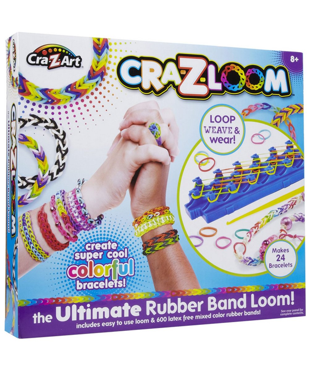 Cra Z Art Cra Z Loom Bracelet Maker Kit