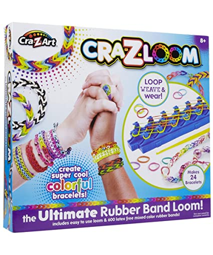 Amazon Cra Z Art Cra Z Loom Bracelet Maker Kit Toys Games