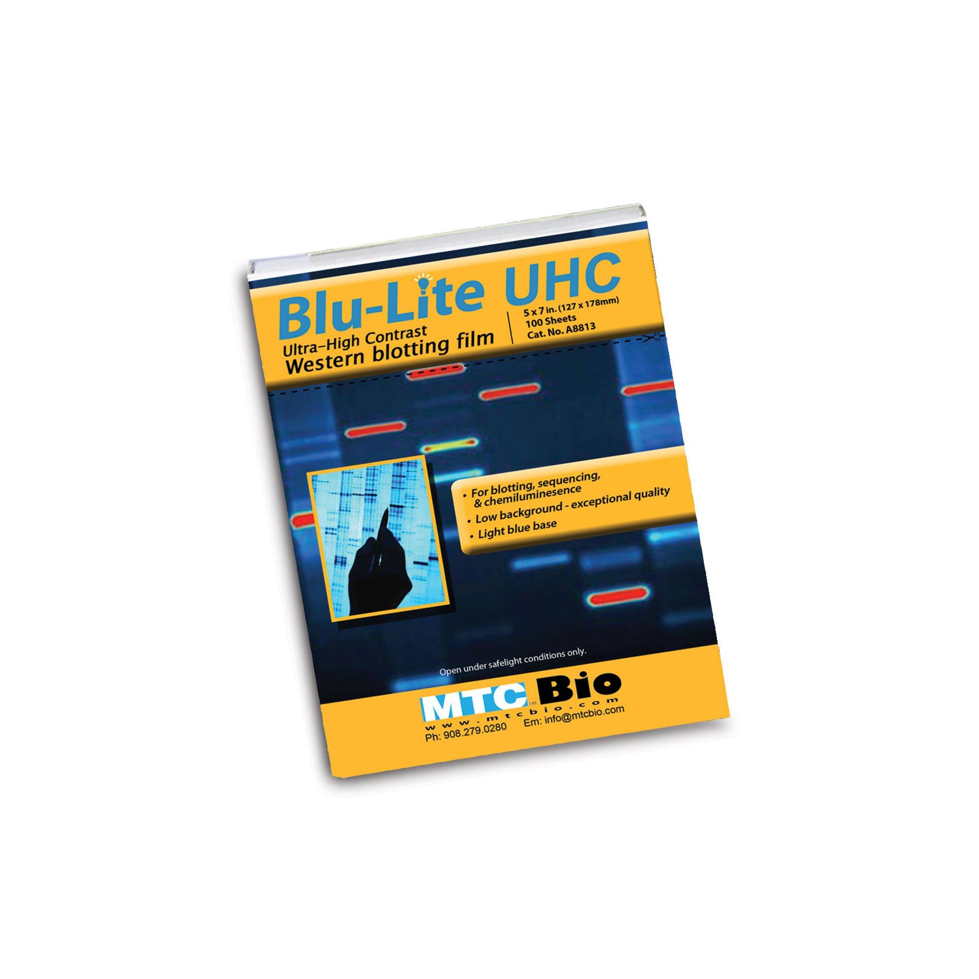 BluLite UHC Autoradiography Film, 5'' x 7''