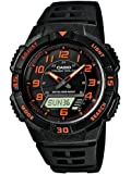 Casio Collection – Herren-Armbanduhr mit Analog/Digital-Display und Resin-Armband – AQ-S800W