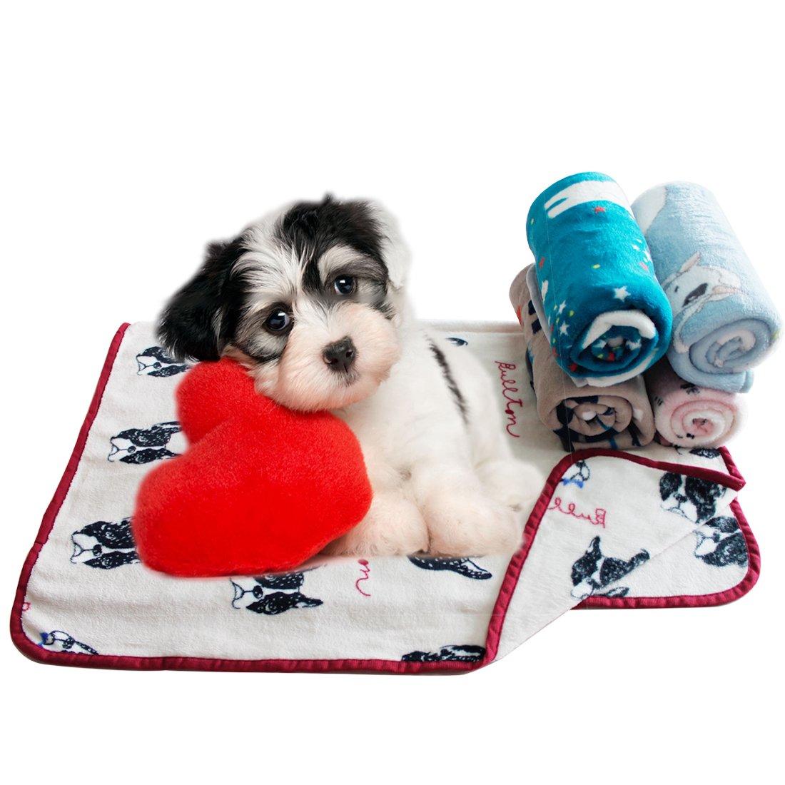 Scheppend Mantas para mascotas Mantas blandas y suaves para perros perros Gatos, Bichon: Amazon.es: Productos para mascotas