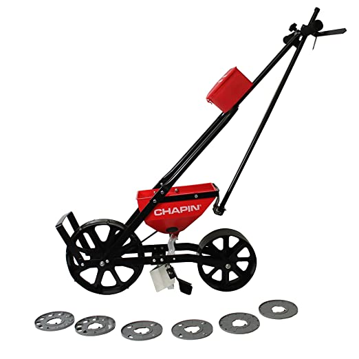 garden seed row planter. Amazon.com : Chapin 84001 New Garden Seeder With Improved Seed Plate Design And 6 Plates \u0026 Outdoor Row Planter
