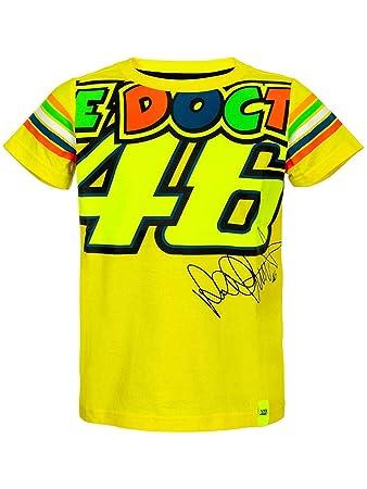 Valentino Rossi Vr46 Moto Gp The Doctor Streifen Kinder T Shirt